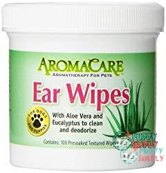 AromaCare Ear Wipes with Aloe and Eucalyptus