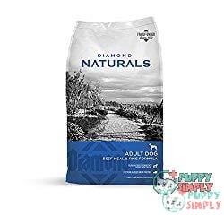 Diamond Naturals Real Meat Recipe Premium Specialty Dog Food