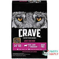 CRAVE Grain Free High Protein Dry Dog Food