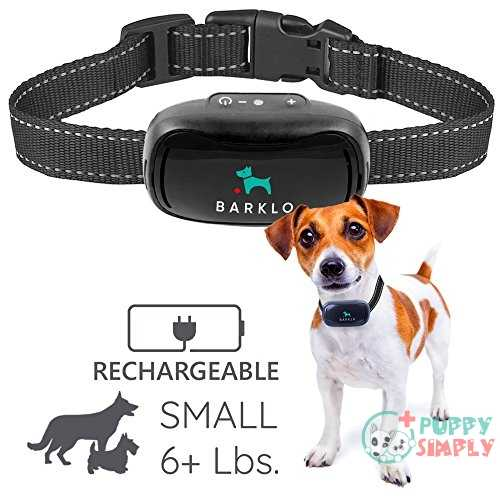 Barklo Small Dog Bark Collar with Waterproof Vibrating Anti Bark Training Device