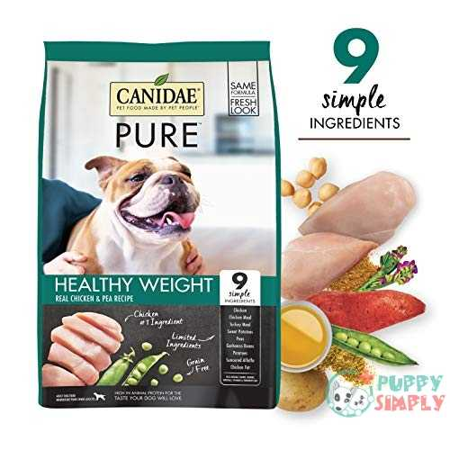 Canidae PURE Healthy Weight Chicken Pea Recipe Dry Food