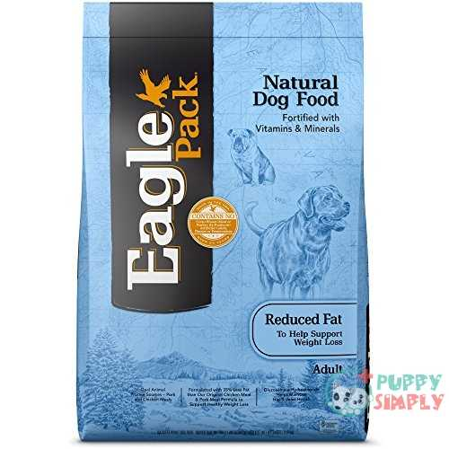 Eagle Pack Natural Dry Dog Food Pork, Chicken Fish Reduced-Fat