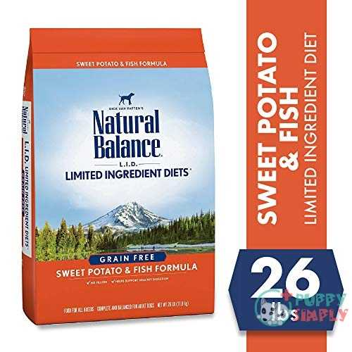 Natural Balance L-I-D- Limited Ingredient Diets Sweet Potato Fish Formula Grain-Free Dry Dog Food