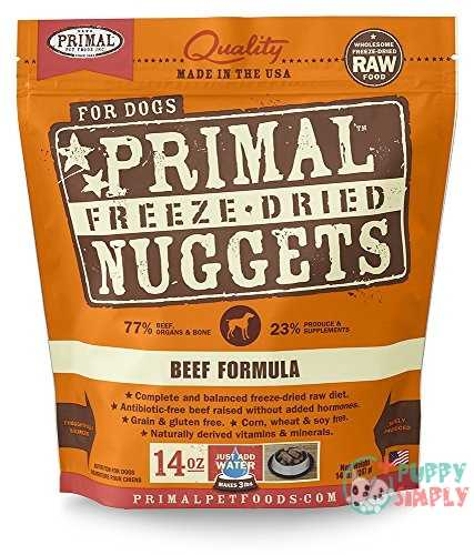 Primal Beef Formula Nuggets Grain-Free Freeze-Dried Dog Food