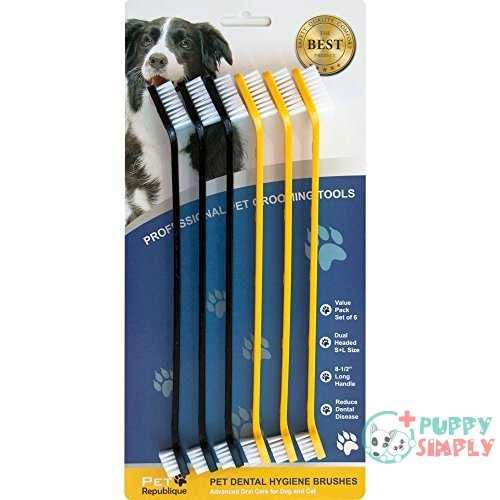 Pet Republique Dog Toothbrush Series