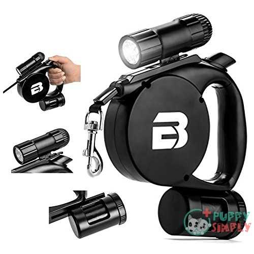 Bc Retail 3 In 1 Retractable Dog Leash