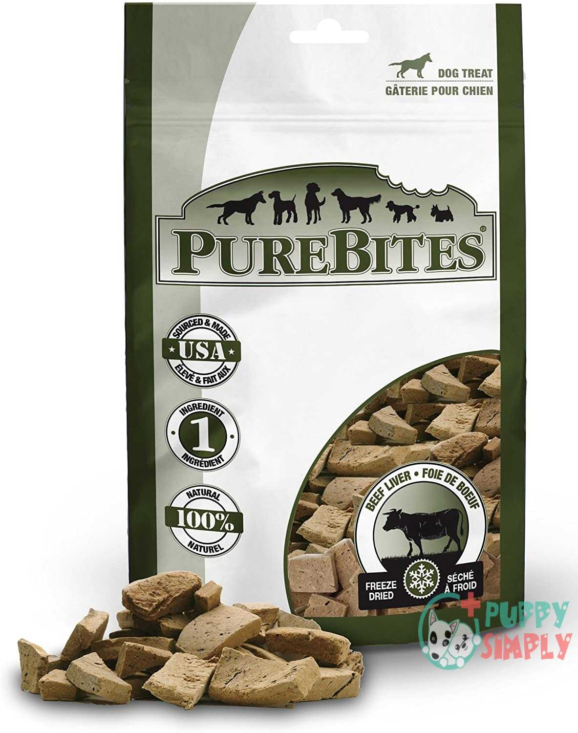 PureBites Freeze Dried RAW Beef