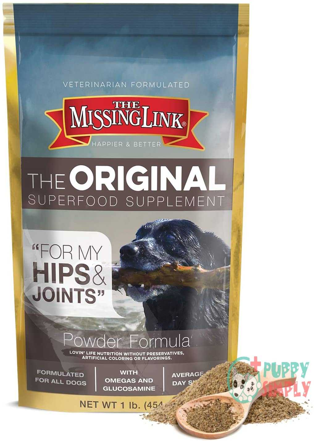 The Missing Link All Natural Supplements For Dogs