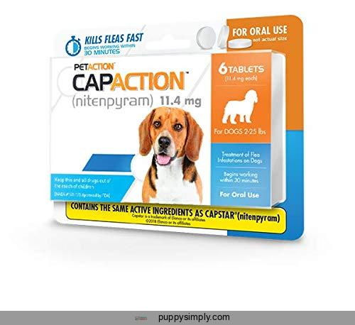 CapAction Oral Flea Treatment Dog,