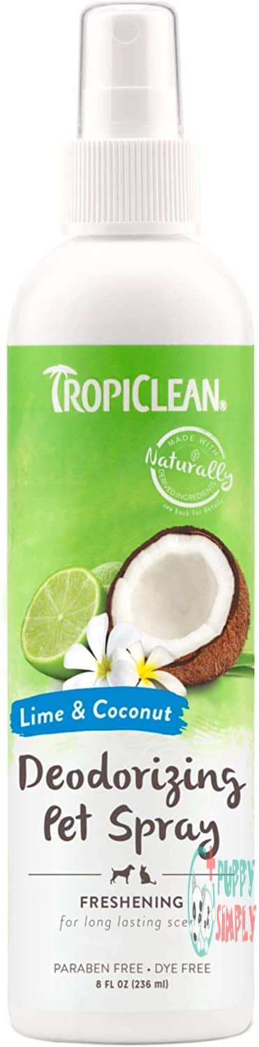 TropiClean Deodorizing Sprays for Pets,