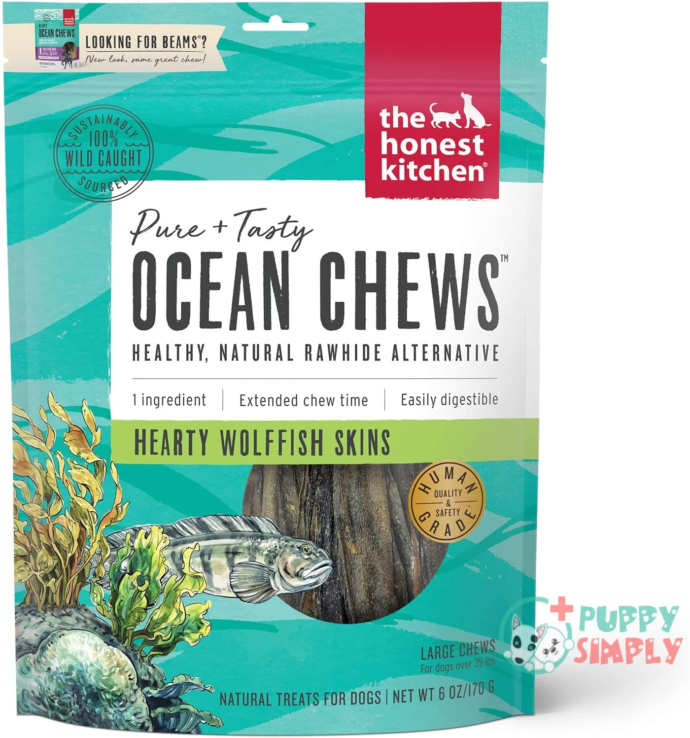 The Honest Kitchen Ocean Chews